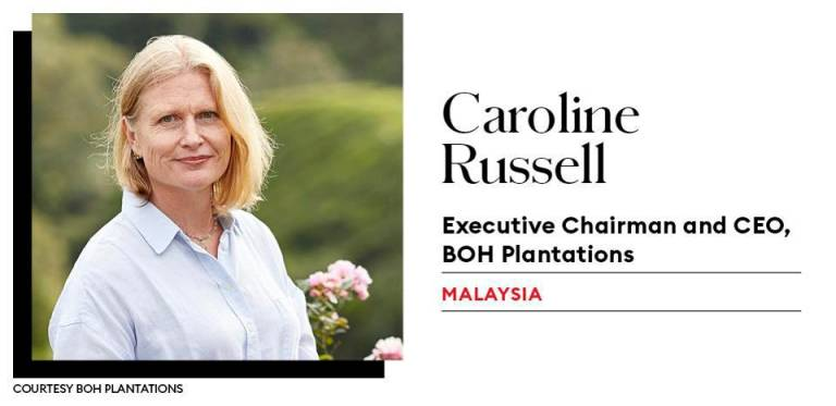 BOH Plantations CEO in Forbes Asia's Power Businesswomen list