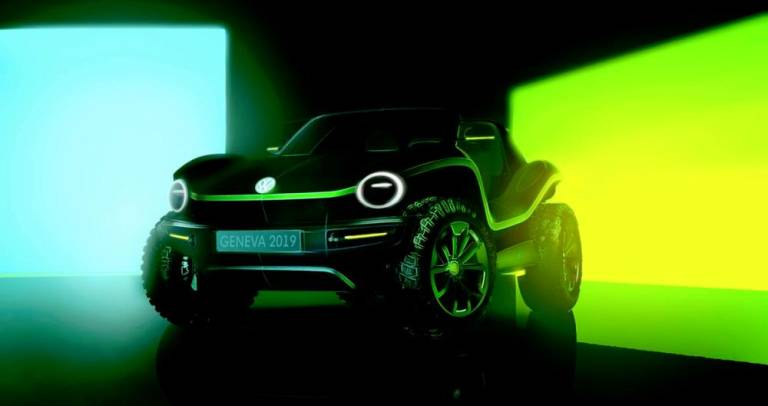 Volkswagen dune buggy makes an electric comeback