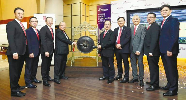 Leong Hup closes flat in comeback to Bursa