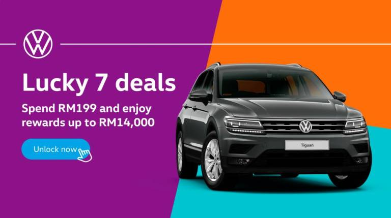 VW official store on Shopee launched with 'irresistible 7.7 deals'