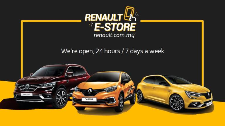 First in Malaysia: Renault E-Store