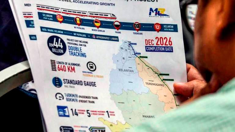 Govt in process of finalising ECRL Section C line