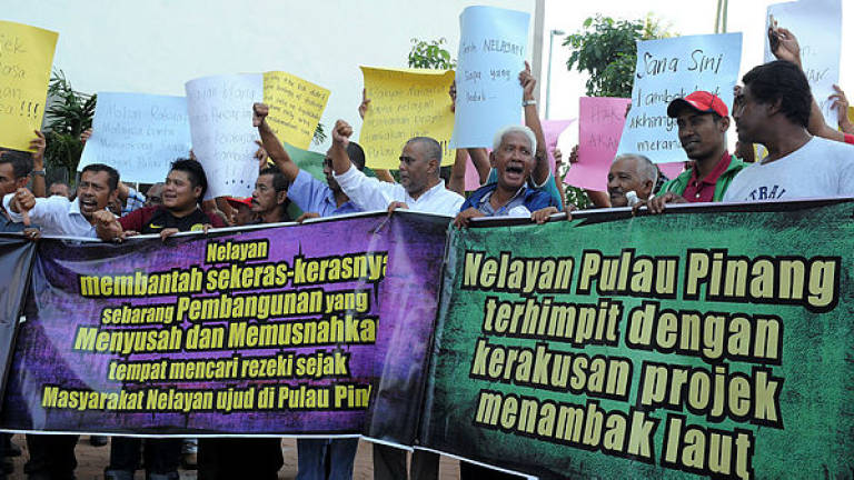 Fishermen voice worries about loss of breeding grounds to reclamation project