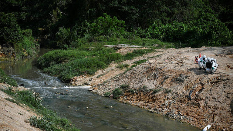 Discolouration, foul smell in Malacca River not caused by pollution: Exco
