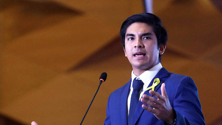Two PPBM leaders suspended, says Youth Chief Syed Saddiq