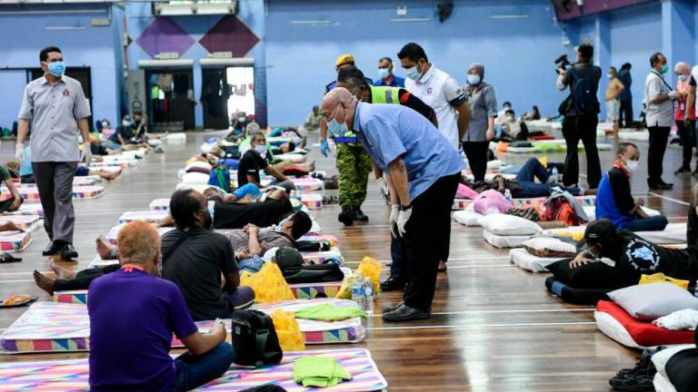 Sarawak plans to build temporary shelter for the homeless