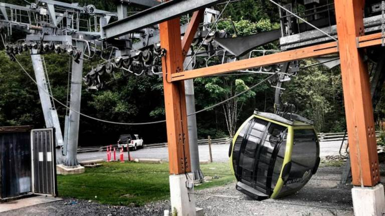 Cable car crash caused by vandalism: Canada police