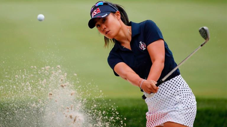 Kang seizes lead in Ohio with flawless round as LPGA returns