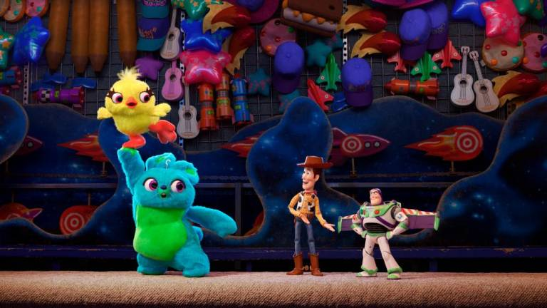 "Woody and Buzz propel ""Toy Story 4"" to box-office dominance"
