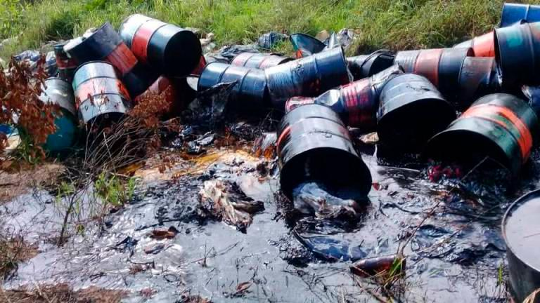 Police probe suspected act of sabotage in river pollution