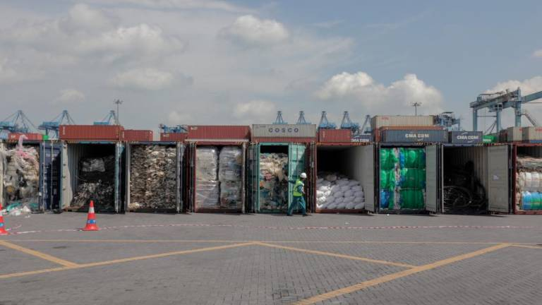 M'sia works on sending back 110 containers of plastic waste