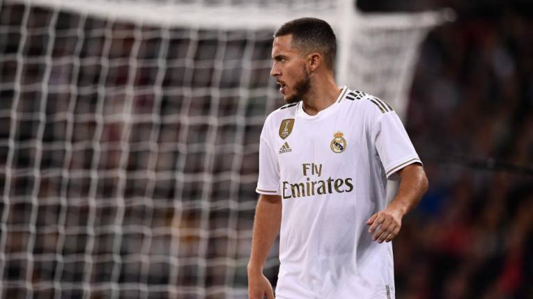 'I gained five kilos': Hazard admits to holiday excesses