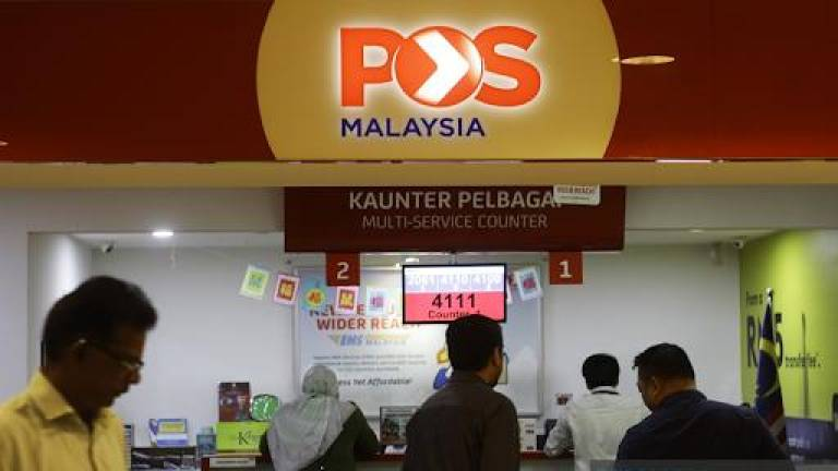 POS Malaysia trying hard to prevent job and salary cuts