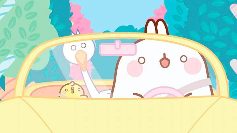 Molang the chubby rabbit woos world on wave of niceness