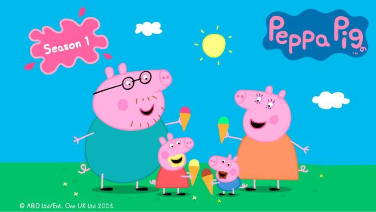 Peppa Pig now on HBO GO