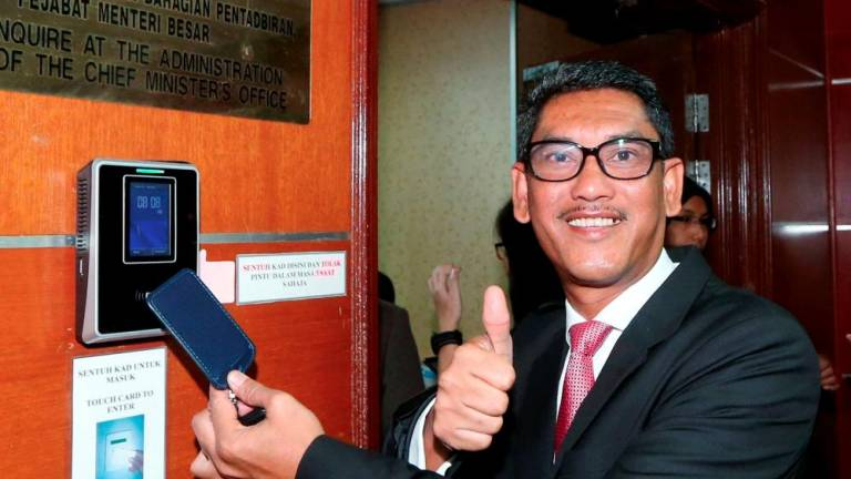 Ahmad Faizal not pressured by calls to step down