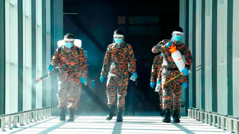 916 public locations sanitised in Selangor since MCO - Fire and Rescue Dept