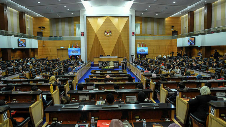 Dewan Negara observes moment's silence for late senators