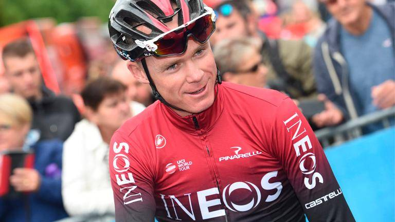 Froome's struggles continue far from the Tour de France