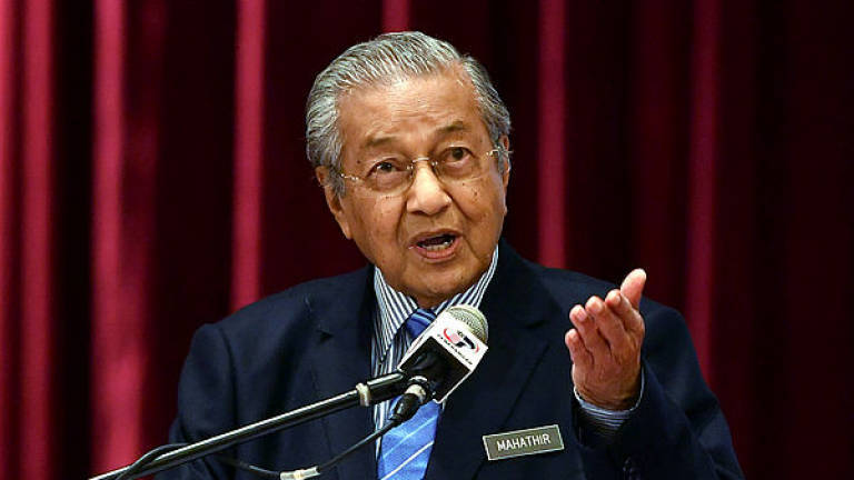 Reshuffling Cabinet is not an easy task: Mahathir