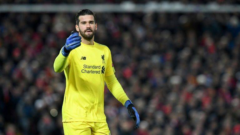 Liverpool's Alisson ready for biggest test of his life