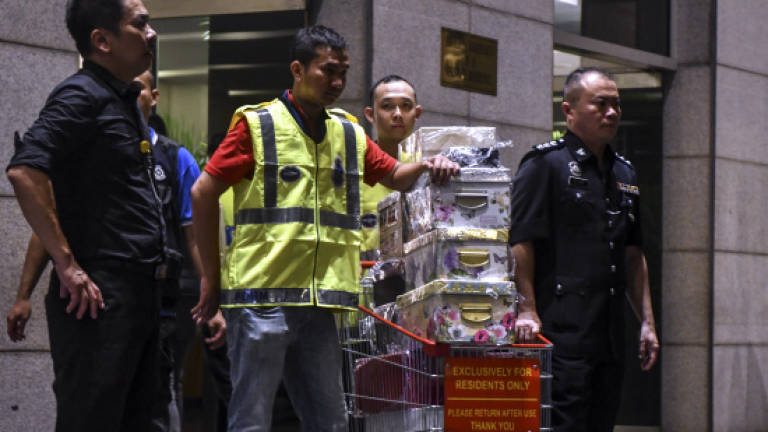 AGC files motion to forfeit items seized from Najib, Rosmah and 16 others