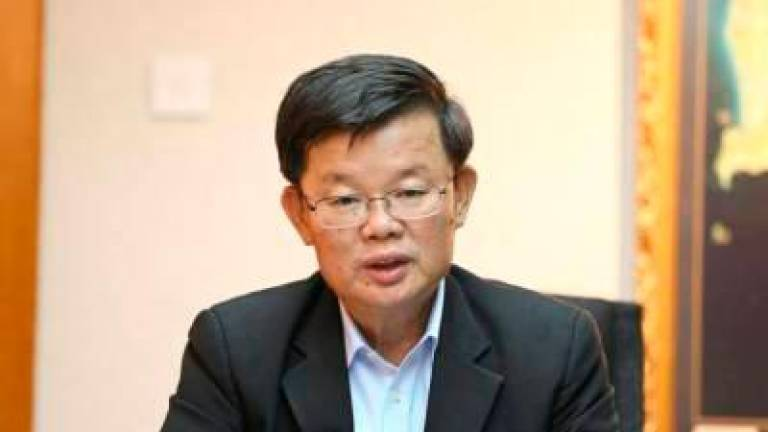 Penang assemblymen who leave PH must vacate seats - Chow
