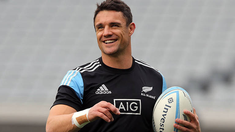 (video) All Blacks legend Carter returns to where it all began to start comeback