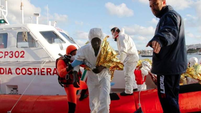 114 migrants rescued from Mediterranean: German NGO