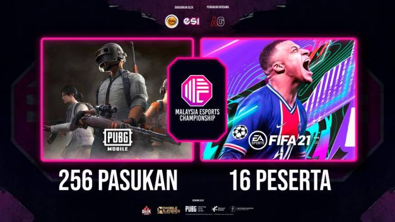 High numbers of participants in Malaysian Esports Championship 2020 (MEC 2020)
