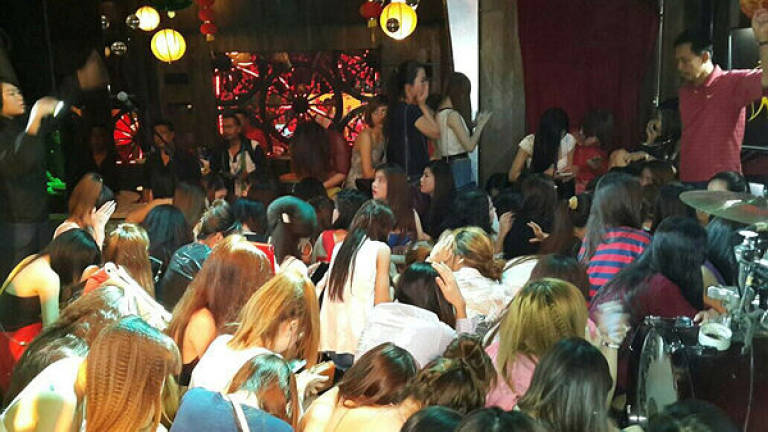 26 foreign nationals held at entertainment outlet in KL