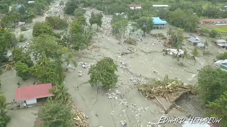 Flash floods kill at least 50 in Indonesia's Papua