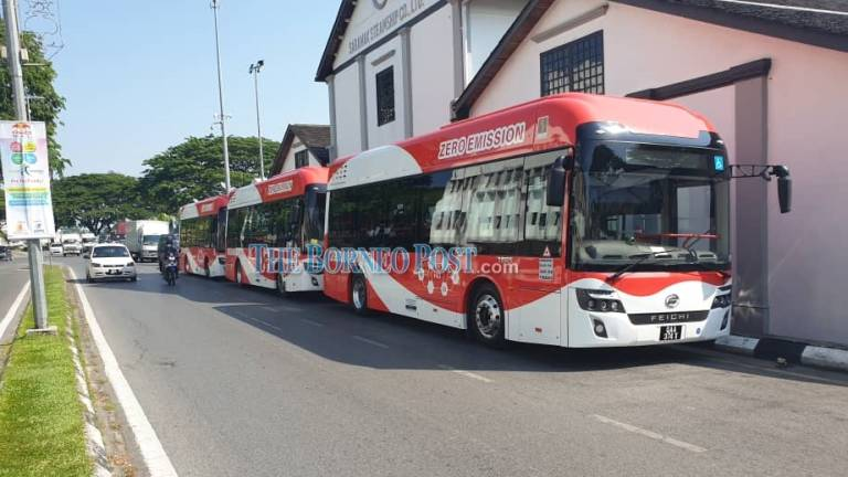 Malaysia's first hydrogen buses make debut