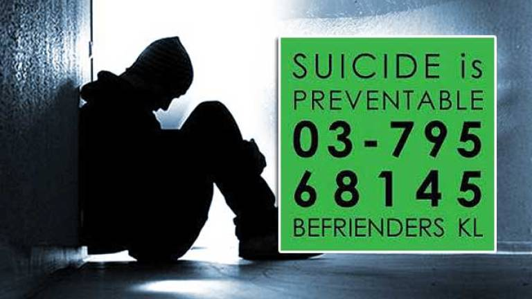 Nearly 35% of 30,075 calls show suicidal tendencies: Befrienders