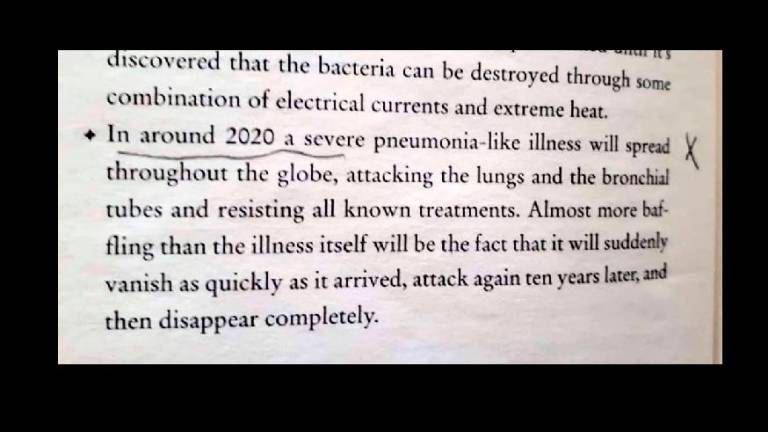 AMERICAN author Sylvia Browne may have prophesied the outbreak of Covid-19 in a book published 12 years ago. In her book End of Days: Predictions and Prophecies about the End of the World, which was co-written with Lindsay Harrison, Browne predicts the outbreak of a respiratory-related illness that will wreak havoc around the world.