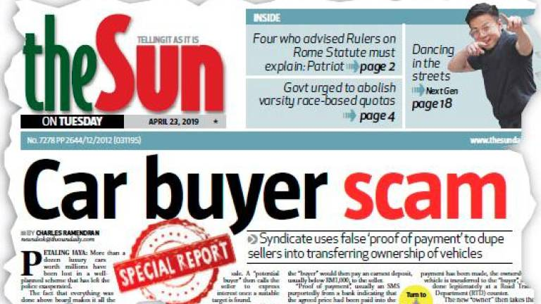 Car-for-sale scam syndicate still operating with impunity despite reports, arrests