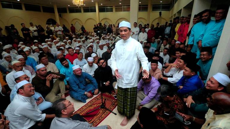 My loyalty has limits, says Azmin
