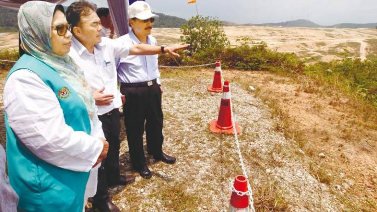 Ministry wants to use Bukit Tagar Sanitary Landfill as model for other waste disposal areas