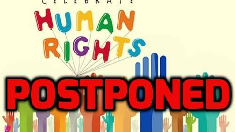 Human rights celebration postponed due to security risks: Suhakam