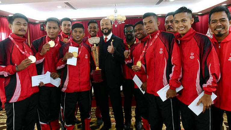 Kedah gives incentives to National Handicapped Football Squad