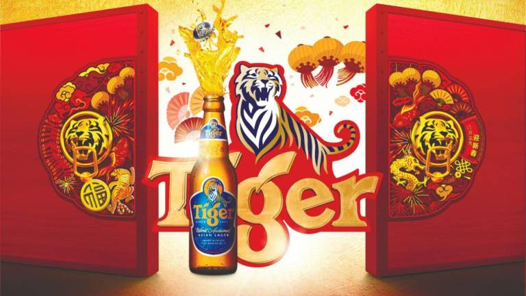 Start the year with a Tiger Beer roar
