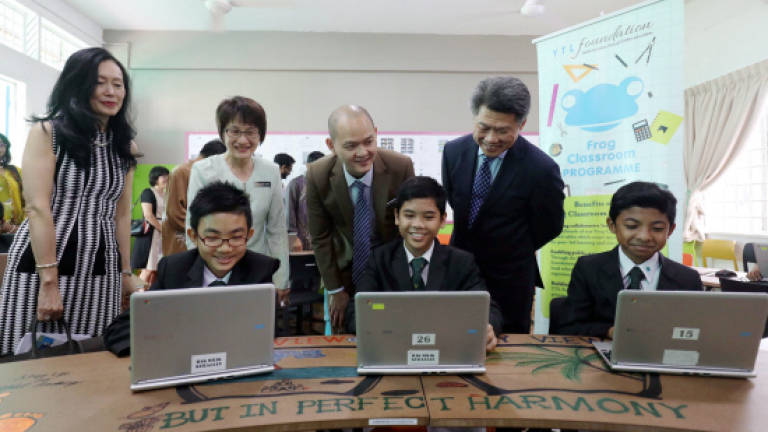 Hi-tech classroom of the future opens in PJ