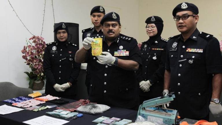 Police bust two drug syndicates in five-day city operation