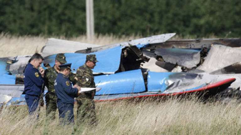 Two dead in crash at Moscow airshow