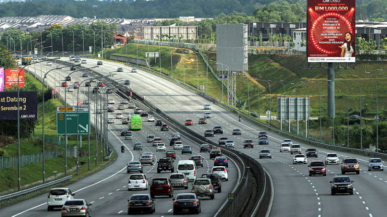 Afternoon traffic slow on most major highways
