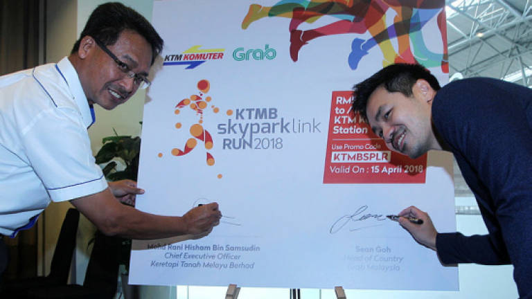 Grab to provide first and last mile connectivity for KTMB passengers