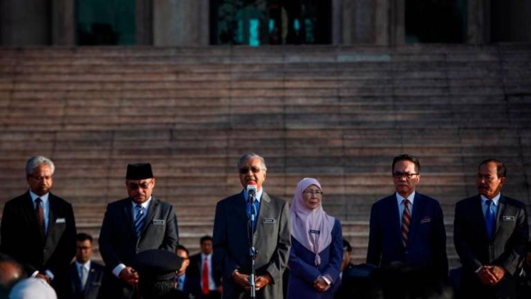 Our country still not truly united: Mahathir