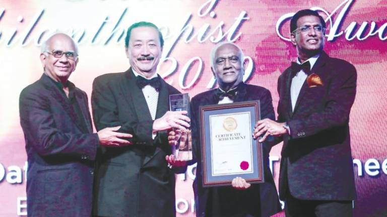 Vincent Tan conferred Malaysia's Philanthropist Award