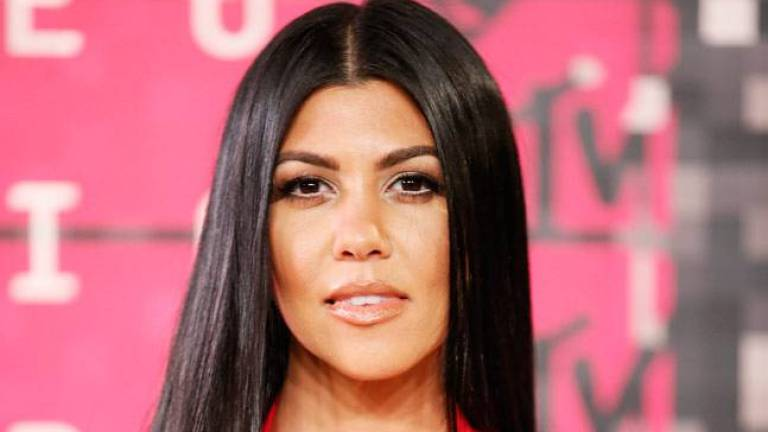 Kourtney Kardashian's picture helped fans embrace their stripes
