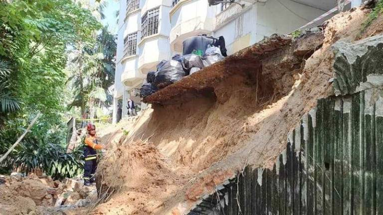 65 residents of apartment in Penchala evacuated following landslide